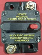 60a Thermal Circuit Breaker W/ Reset Button
