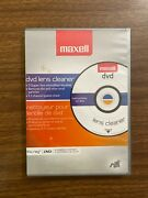 Maxell Lens Cleaner Dvd And Blu-ray Players, Gaming Systems Ps3 Xbox 360 New