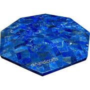 42 Inches Marble Reception Table Different Pattern Dining Table Top Home Decor