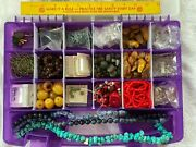 Beads/jewelry Making Supplies - Natural Stone, Turquoise, Coral, Metal, Pearls