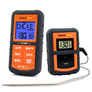 Wireless Bbq Meat Thermometer Grilling Smoker Oven Kitchen Turkey Remote Digital