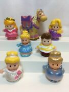 Fisher Price Little People Disney Princess Lot Of 7 Cinderella Horse More
