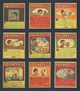 1930 R105 Pee Wee Says Near Complete Set 23/24 High Quality By Jerry Iger