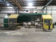 Cms Cnc Lathe, Disc Surface Grinding Fused Silica Rolls. M Cdcr, Type 60 Sp/l