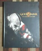 God Of War Iii Ultimate Edition Hardback Strategy Game Guide + Lithograph