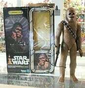 Vintage Star Wars - Kenner - Large Size Action Figure - 1977 Chewbacca 15 - Mib
