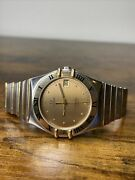 Omega Constellation Automatic 18k/ss Menandrsquos Cal. 1109 Watch - Working
