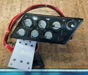 New Skeeter Dash Board Plate Switch Fuse Assembly