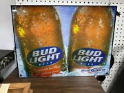 Vintage Bud Light Beer Light Sign Collectible