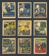 1934 R24 Goudey Buck Jones 6 R151 National Chicle Tom Mix Booklets 8 Different