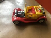 Donald Duck And Nephews Roadster By Marx Toys 70andrsquos Walt Disney Car