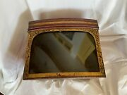 Antique General Store Display Box With Glass Front