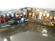 2- Pez Collectors Series, The Lord Of The Rings, Star Trek The Next Generation,