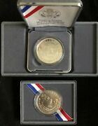 1991-s And 1991-p 1 Mount Rushmore Anniversary Proof And Uncirculated Coins