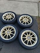 Authentic Jdm Rays Volk Racing Ce28 Nf Forged Wheels 18x7.5 Et50 Rims 5x100