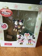 Mickey And Minnie Tree Topper Lights Up New In Box