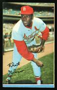 1970 Topps Super 33 Bob Gibson Factory Cut Square Corners Not A Blank Back Proof