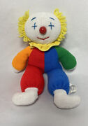 Vintage Eden The Baby Clown Obo Red And Blue Outfit Stuffed Animal Plush Toy