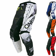 Oneal Element Shred Mx Enduro Motocross Off Road Pants