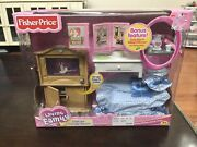 New 2003 Fisher Price Loving Dollhouse Deluxe Family Room Sweet Sounds Sealed