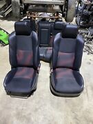 2010 2011 2012 2013 Mazdaspeed 3 Hatchback Front Rear Leather Seats Red/black