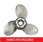 Thunderbolt 15 1/2 X 17 Qs5004x Stainless Steel Prop For Yamaha 150-300hp