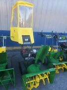 John Deere Trx26 Track Snowblower W/ Jd Cab In Great Cond Thrower 2 Stage Used