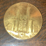 1939 Ny Worlds Fair Spinner Coin 31mm As Is Circulated Condition Token Medal