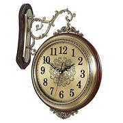 16and039and039 Large Wall Clock Double Sided Clocks 360anddeg Battery Operated Clock Luxury