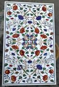 30 X 48 Inches Marble Center Table Top Stone Dining Table Handcrafted From India