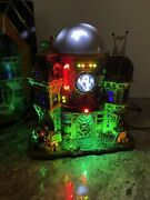 Rare Ghost Containment Building 2013 Lemax Spooky Town Retired