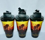 Cup Topper Figures Lion King Full Set + Collectible Movie Cups