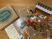 The Riding Academy Vintage Toy Horse Stable Set 1994 Toys To Grow On