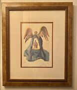 Salvador Dali Canto 33 Dante Purified Framed Limited Edition Lithograph 468/50
