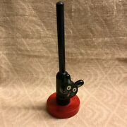 Classic Vintage Wooden Peter Weber Long Tail Cat Ring Holder