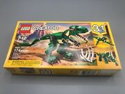 Lego Creator 3in1 Trex Triceratops And Pterodactylus Build Toy Set 174 Pcs 31058