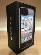 Brand New Never Used Apple Iphone 3gs - 8gb Black Unlocked A1303 Gsm