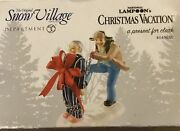 A Present For Clark Department 56 National Lampoon Christmas Vacation Retired