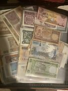 Collection Of Rare Banknotes Foreign Currency Banknotes Job Lot Rare Valuable