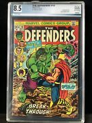Defenders 10 Graded 8.5 Avengers Crossover A