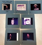 Lot Of 7 Snoop Dogg Color 35mm Press Photo Publicity Slides Geffen Records 1996