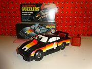 Vintage 1981 Ideal Toys Electronic Guzzlers Black Racing Porsche 4 Speed Tuning