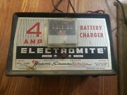 Antique Woodward Schumacher 108-58[a] 4 Amp Battery Charger - Made In Usa