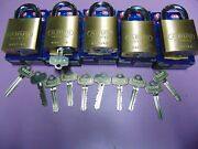 5 New Abus Ic Best Cyl. With H Core And 1 Core And 10 Keys Padlock  Locksmith