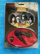 Kiss Collectible Tin And Folding Knife Uc2623 Mint Cond. Discontinued Nib Rare