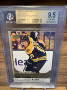 2017-18 Upper Deck Ud Anders Bjork Young Guns High Gloss Bgs 9.5 Andrsquod 10/10