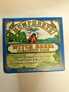 Humphreys Witch Hazel Facial Cleansing Pads Gentle Astringent 60 Pads