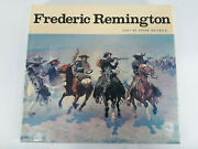 Frederic Remington Text By Peter Hassrick 1988 Illustrated Coffee Table Book Vgc