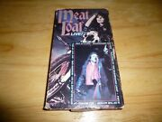 Meat Loaf Live Rare Vhs Not On Dvd 1984 Neverland Express Bad Attitude