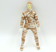 Mego Mad Monsters 8 Action Figure Horrible Mummy, Vintage 70s Toy, Damaged Hand